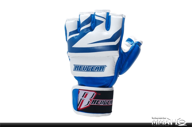 Revgear Deluxe MMA Gloves Blue - Pair